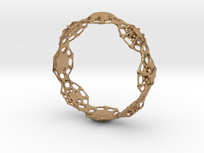 Bracelet LK in Polished Brass