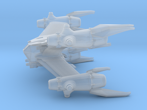 EA Starfury, Standard (Babylon 5), 1/270 in Smooth Fine Detail Plastic