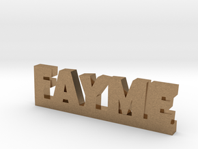 FAYME Lucky in Natural Brass