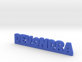 DEVONDRA Lucky in Blue Processed Versatile Plastic