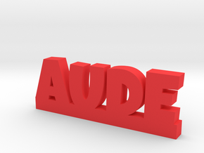 AUDE Lucky in Red Processed Versatile Plastic