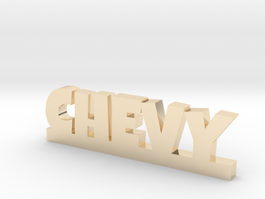 CHEVY Lucky in 14k Gold Plated Brass