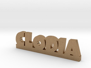 CLODIA Lucky in Natural Brass