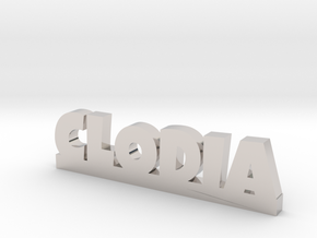 CLODIA Lucky in Rhodium Plated Brass