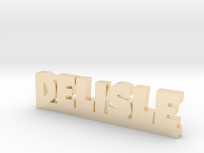 DELISLE Lucky in 14k Gold Plated Brass