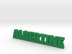 ALBERTINE Lucky in Green Processed Versatile Plastic