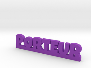 PORTEUR Lucky in Purple Processed Versatile Plastic