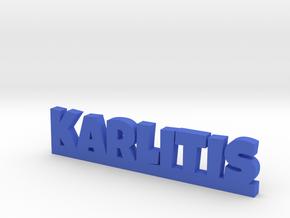 KARLITIS Lucky in Blue Processed Versatile Plastic