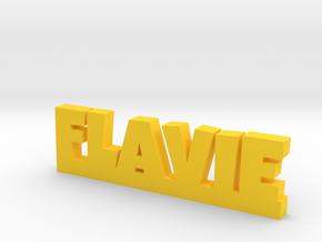 FLAVIE Lucky in Yellow Processed Versatile Plastic