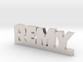 REMY Lucky in Rhodium Plated Brass
