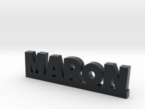 MARON Lucky in Black Hi-Def Acrylate