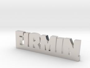 FIRMIN Lucky in Rhodium Plated Brass