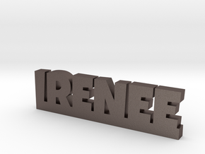 IRENEE Lucky in Polished Bronzed Silver Steel