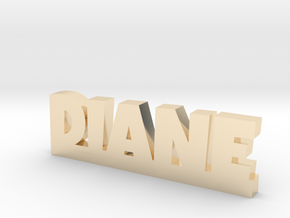 DIANE Lucky in 14k Gold Plated Brass