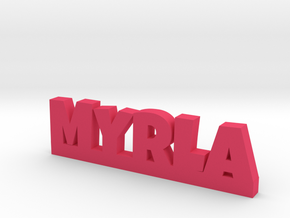 MYRLA Lucky in Pink Processed Versatile Plastic