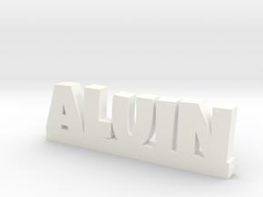 ALUIN Lucky in White Processed Versatile Plastic