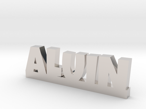 ALUIN Lucky in Rhodium Plated Brass