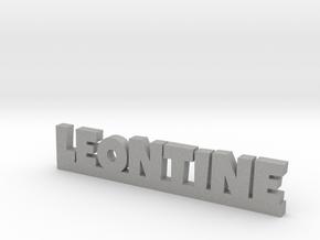 LEONTINE Lucky in Aluminum