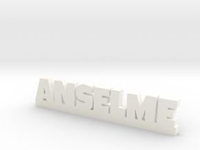 ANSELME Lucky in White Processed Versatile Plastic