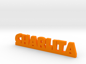 CHARLITA Lucky in Orange Processed Versatile Plastic
