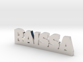 RAISSA Lucky in Rhodium Plated Brass