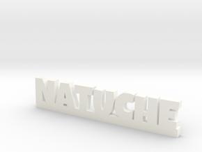 NATUCHE Lucky in White Processed Versatile Plastic