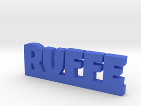RUFFE Lucky in Blue Processed Versatile Plastic