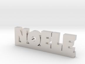 NOELE Lucky in Rhodium Plated Brass
