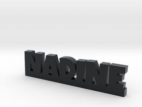 NADINE Lucky in Black Hi-Def Acrylate