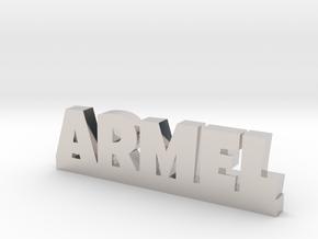 ARMEL Lucky in Rhodium Plated Brass