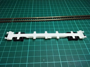 FEA-F Wagon N Gauge 1:148 in Smooth Fine Detail Plastic