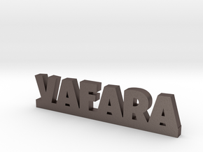VAFARA Lucky in Polished Bronzed Silver Steel