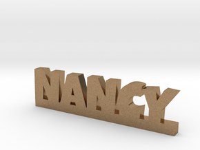 NANCY Lucky in Natural Brass