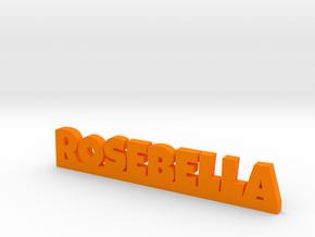 ROSEBELLA Lucky in Orange Processed Versatile Plastic