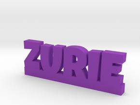 ZURIE Lucky in Purple Processed Versatile Plastic