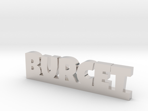 BURCET Lucky in Rhodium Plated Brass