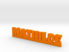 MATHILDE Lucky in Orange Processed Versatile Plastic