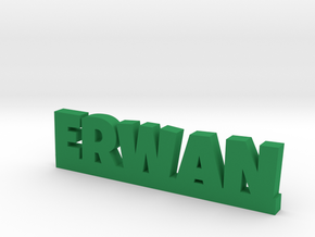 ERWAN Lucky in Green Strong & Flexible Polished