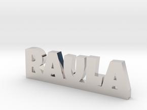 RAULA Lucky in Rhodium Plated Brass