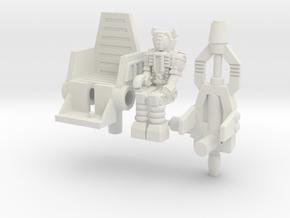 Waruder/Titan Kit for Skrapnel/Shrapnel in White Natural Versatile Plastic