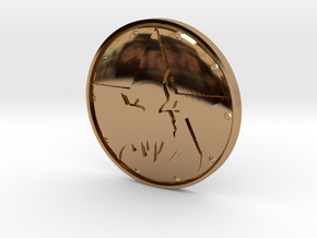 Grimjack's Demonstar Badge in Polished Brass