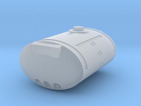 1/64 Scale 850 Gallon Elliptical Tank in White Natural Versatile Plastic