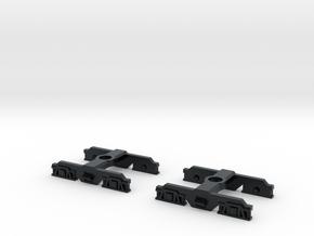 SAR Redhen 860 Bogie in Black Hi-Def Acrylate