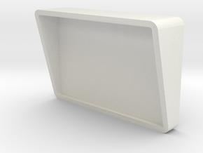 Sickbay Wall Monitor (Star Trek Classic), 1/9 in White Natural Versatile Plastic