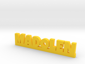 MADOLEN Lucky in Yellow Strong & Flexible Polished