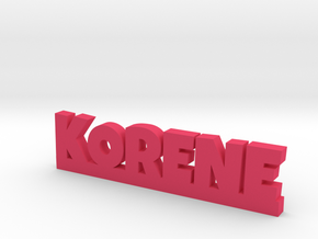 KORENE Lucky in Pink Strong & Flexible Polished