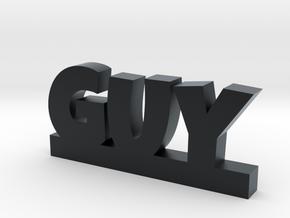 GUY Lucky in Black Hi-Def Acrylate