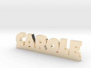 CAROLE Lucky in 14k Gold Plated Brass