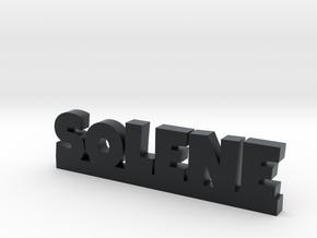 SOLENE Lucky in Black Hi-Def Acrylate