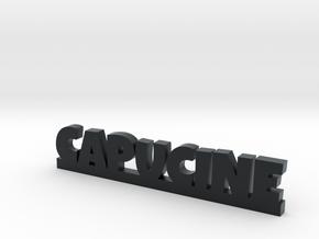 CAPUCINE Lucky in Black Hi-Def Acrylate